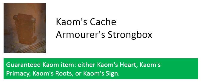 Kaom's Cache