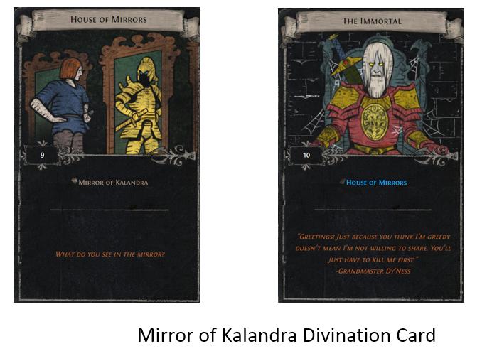Mirror of Kalandra Divination Card