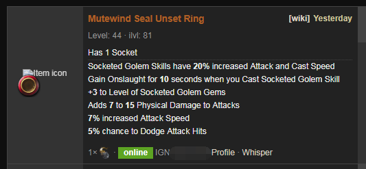 Mutewind Seal Price