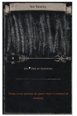 Orb of Scouring Divination Card