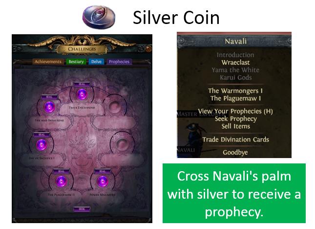 Poe Silver Coin Farming Guide Vendor