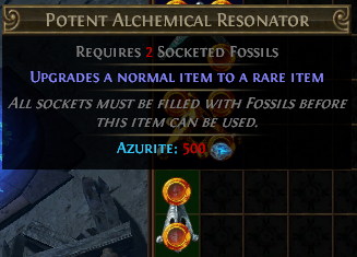 Potent Alchemical Resonator