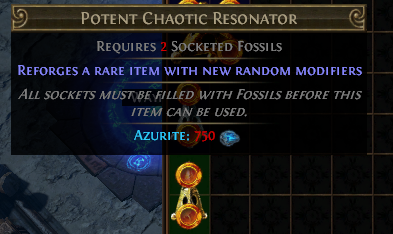 Potent Chaotic Resonator