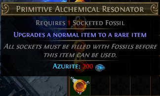 Primitive Alchemical Resonator