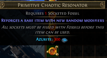 Primitive Chaotic Resonator