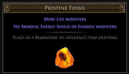 Pristine Fossil