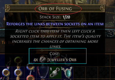 Purchase Orb of Fusing