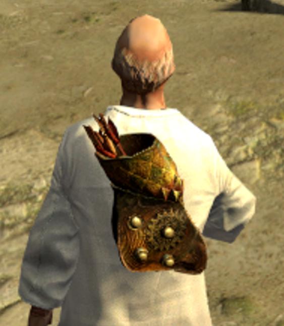 Rearguard 3D Art