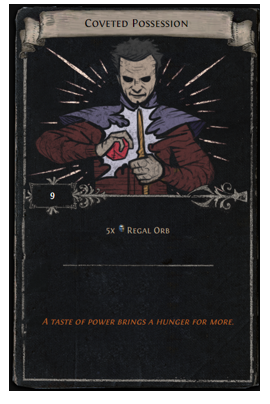 Regal Orb Divination Card
