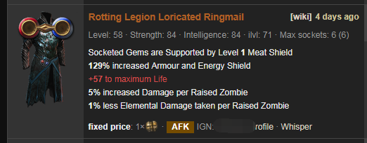 Rotting Legion Price
