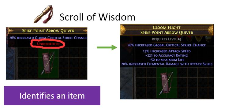 scroll of wisdom