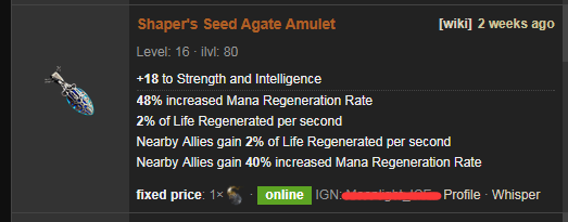 Shaper's Seed Price