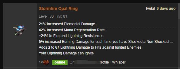 Stormfire Price