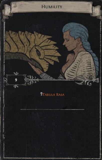 Tabula Rasa Divination Card