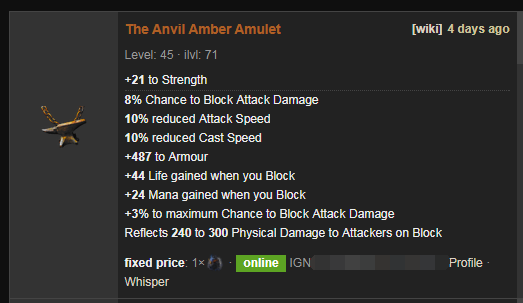 The Anvil Price