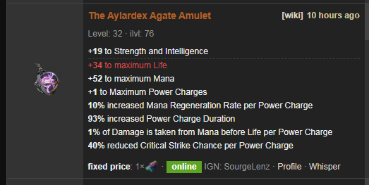 The Aylardex Price