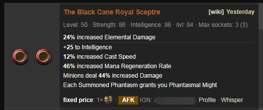 The Black Cane