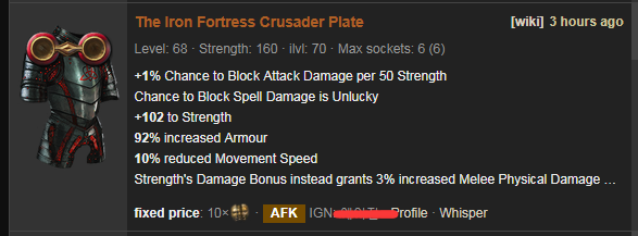 The Iron Fortress Price