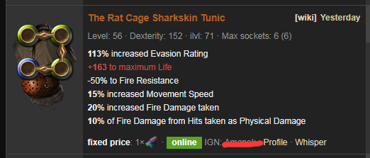 The Rat Cage Price