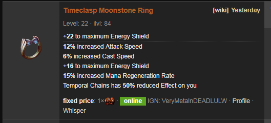 Timeclasp Price