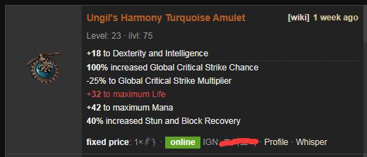 Ungil's Harmony Price