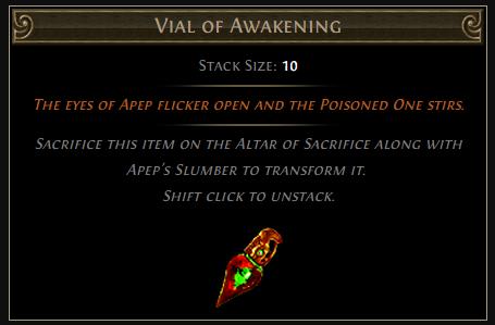Vial of Awakening
