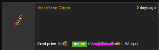 Vial of the Ghost Price