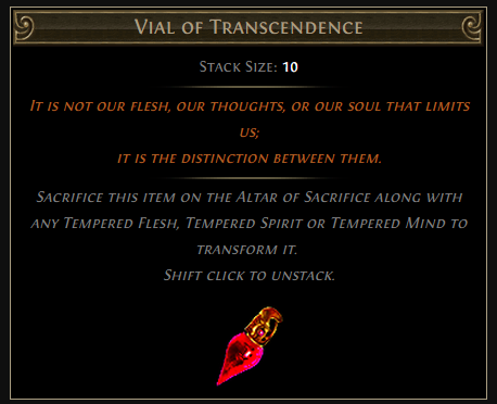 Vial of Transcendence
