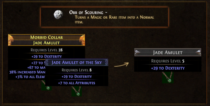 Orb of Scouring