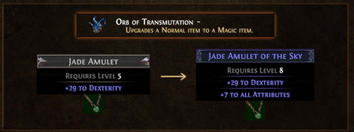 Orb of Transmutation