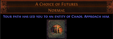 A Choice of Futures PoE