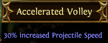 Accelerated Volley PoE