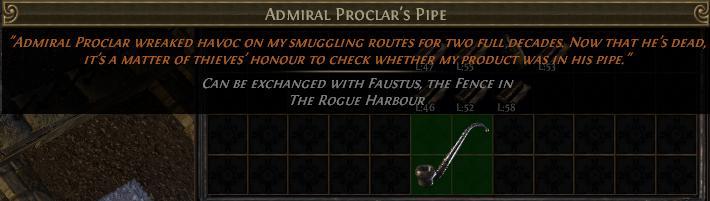 Admiral Proclar's Pipe