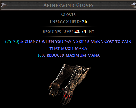 Aetherwind Gloves