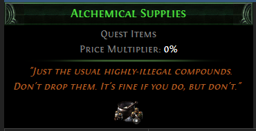 Alchemical Supplies