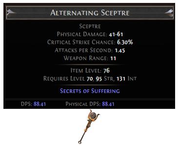 Alternating Sceptre