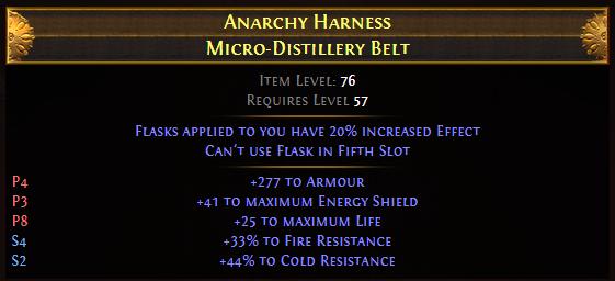Anarchy Harness Micro-Distillery Belt