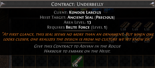 Ancient Seal Contract