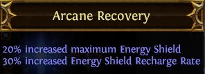 Arcane Recovery PoE