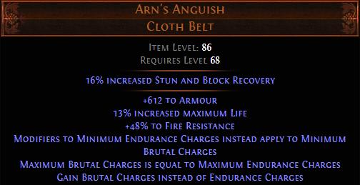 PoE Arn's Anguish