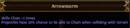 Arrowstorm PoE