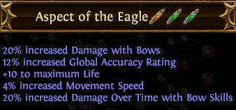 Aspect of the Eagle PoE