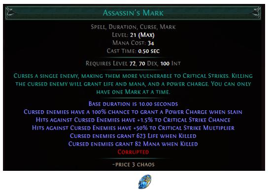 Assassin's Mark Gem
