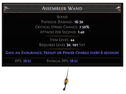 Assembler Wand