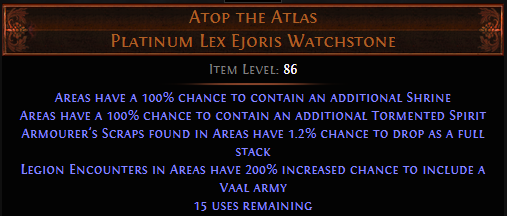 PoE Atop the Atlas