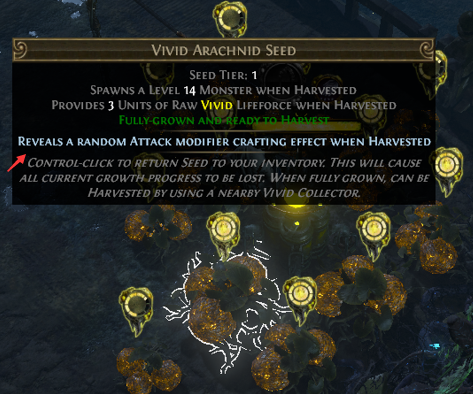 Attack Modifiers Harvest