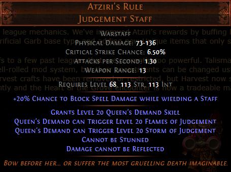Atziri's Rule