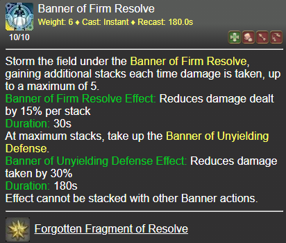 Banner of Firm Resolve FFXIV