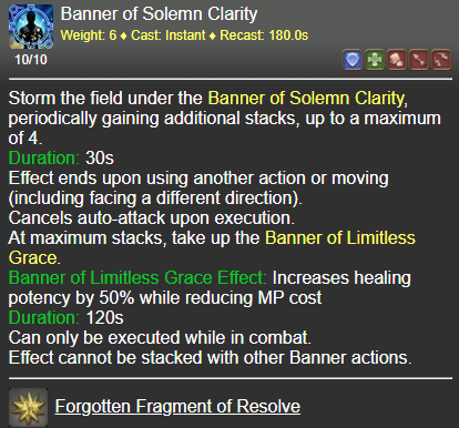Banner of Solemn Clarity FFXIV