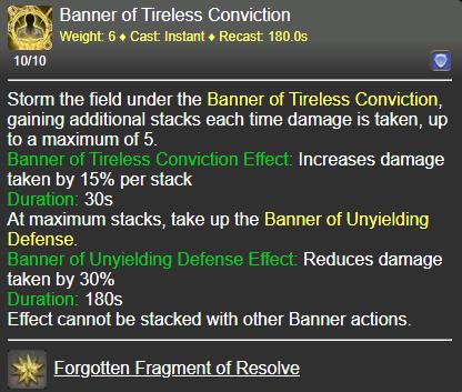 Banner of Tireless Conviction FFXIV